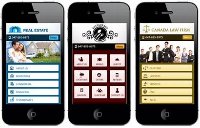 Mobile Website Web Websites Homepage Phone Pages