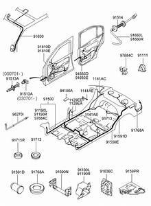 2004 Hyundai Elantra Miscellaneous Wiring