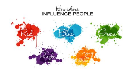 of colors the psychology of colors in marketing infographic