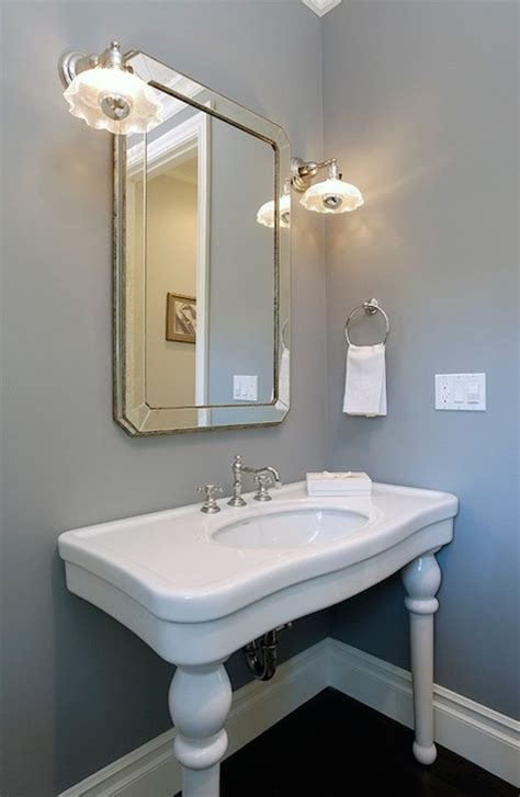 parisian pedestal sink transitional bathroom core