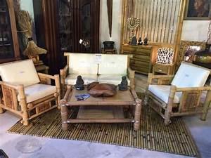Salon De Jardin Bambou : salon en bambou vente abris de jardin en bambou et ~ Teatrodelosmanantiales.com Idées de Décoration