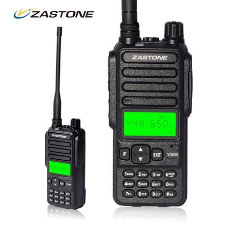 walkie talkie 10km zastone v3000 8w 400 470mhz frequency