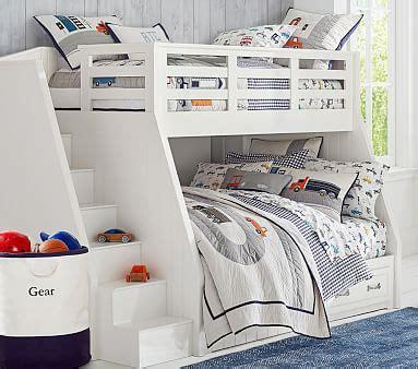 belden twin  full stair loft bed pottery barn kids