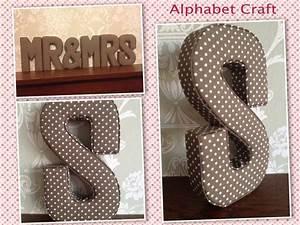 mr mrs wedding decoration decor fabric letters ideal With decorative fabric letters