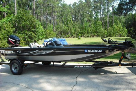 Used Fishing Boats For Sale Vt by 2010 Triton Vt 13 Fishing Boat For Sale In Purvis Ms