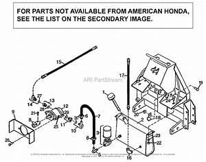 Honda Bh6575 A Lawn Tractor  Usa Parts Diagram For Pump