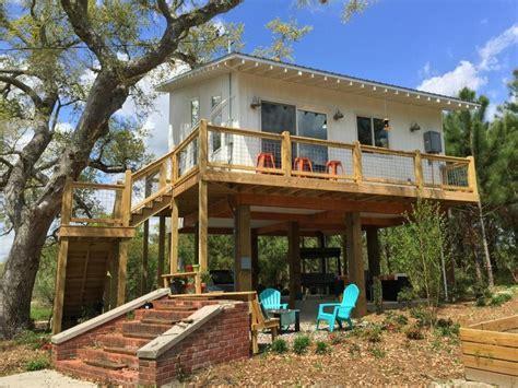 familys  sq ft stilt beach house
