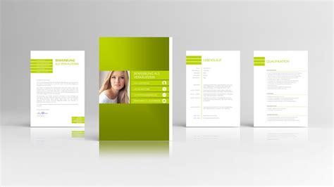 bewerbung design mit anschreiben lebenslauf deckblatt