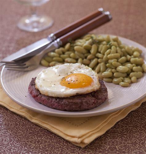 et cuisine poele steak à cheval avec oeuf au plat les meilleures