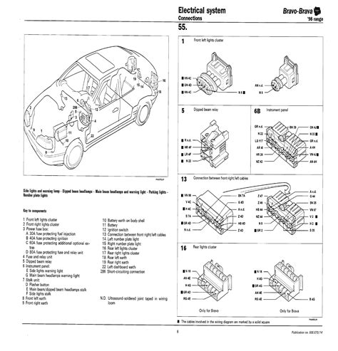 fiat 500 number plate light fuse wiring diagram