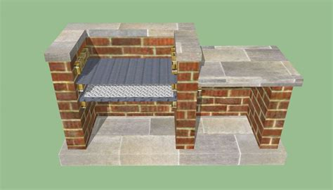 braai pit designs outdoor kitchen designs howtospecialist how to build step by step diy plans