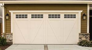Garage door buying guide sizes styles materials more for Carriage style garage doors with windows