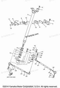Yamaha Atv 2009 Oem Parts Diagram For Steering