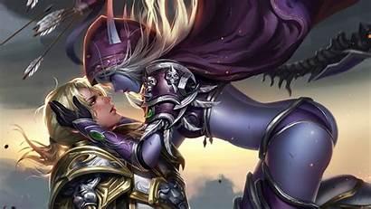 Warcraft 4k Sylvanas Azeroth Battle Windrunner Anduin