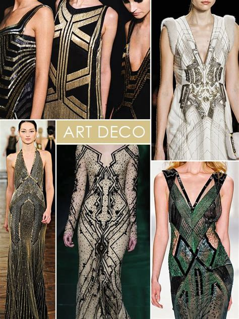 In fashion, Art deco and Art on Pinterest
