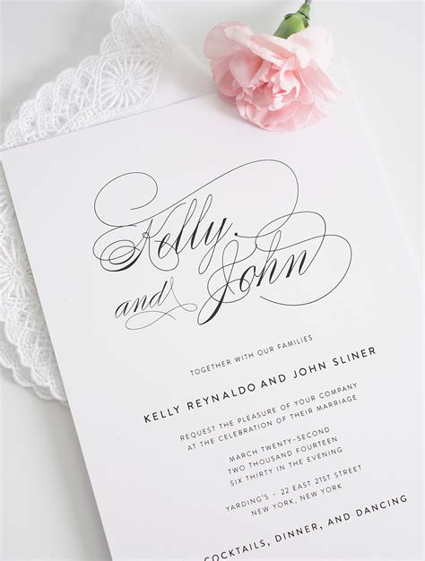 30 Classy Wedding Invitations Ideas Wohh Wedding