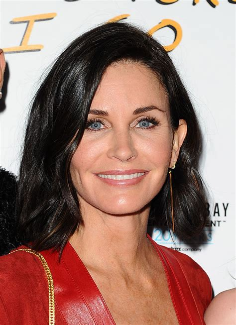 Courtney Cox Layered Hairstyles