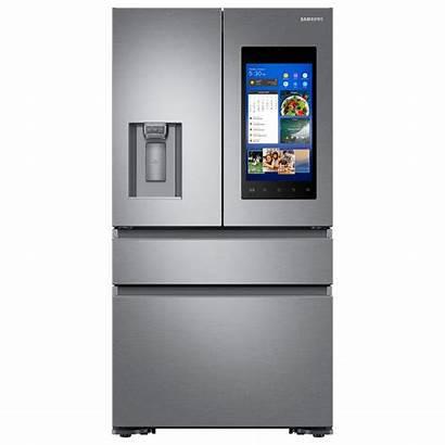 Samsung Refrigerator Door Smart French Refrigerators Stainless