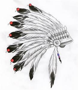 indian headdress design   tattoos   Pinterest   Headdress ...