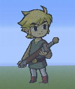 Link sans chapeau [Pixel Art] by DarkAnoth on DeviantArt