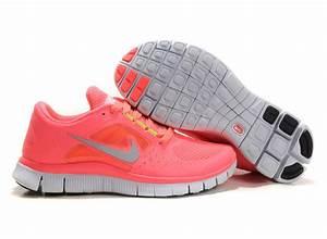 Nike Free Run 3 Women s Hot Punch Running Shoes Coral Pink ...