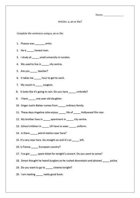 worksheets  printable  images english