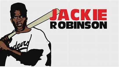 Robinson Jackie History Drawing Cartoon Month Sketch