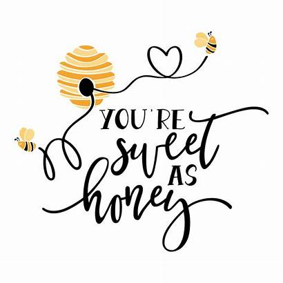 Quotes Honey Bee Lovesvg Sweet Re Clip