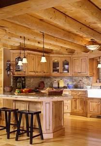 la cuisine en bois massif en beaucoup de photos With cuisine en bois massif