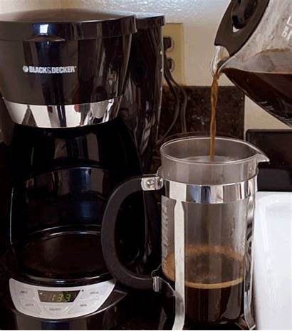 Coffee French Pouring Press Ready Wake Source