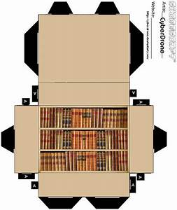 Cubee - Bookcase by CyberDrone on DeviantArt