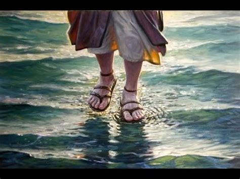 Jesus and Peter Walking On Water