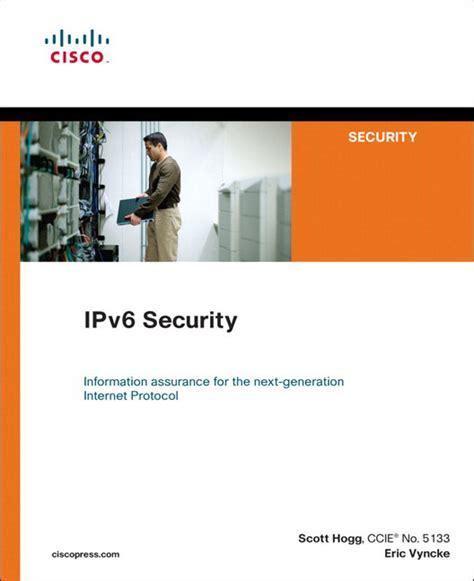 Pearson Education Ipv6 Security