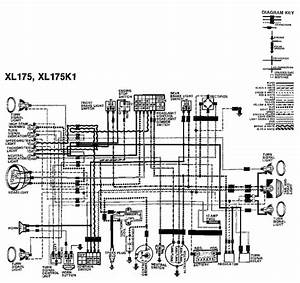 Honda Xl175 Wiring Diagram  59411
