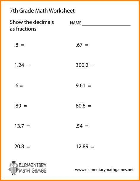 6 printable 7th grade math worksheets mahakumbh melanasik