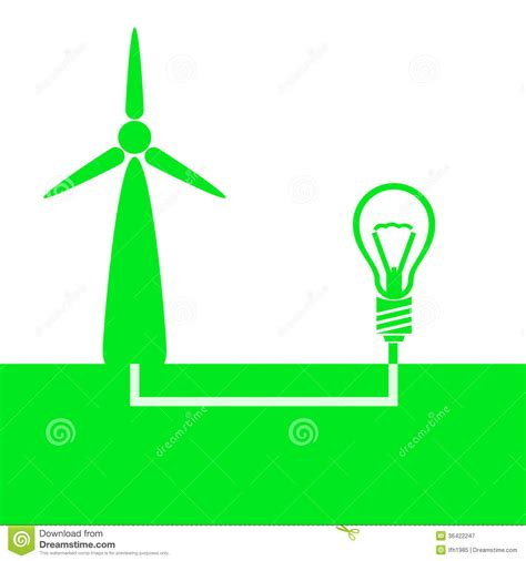 what color is electricity illustration of eco type of generation electricity royalty