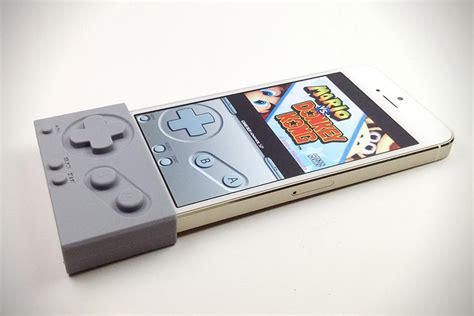 gameboy for iphone g pad gameboy controller for iphone hiconsumption