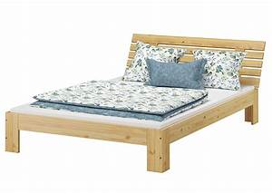 Bett 1 60 : franz sisches bett 140 x 200 cm kiefer massiv mit rollrost m erst holz ~ Watch28wear.com Haus und Dekorationen