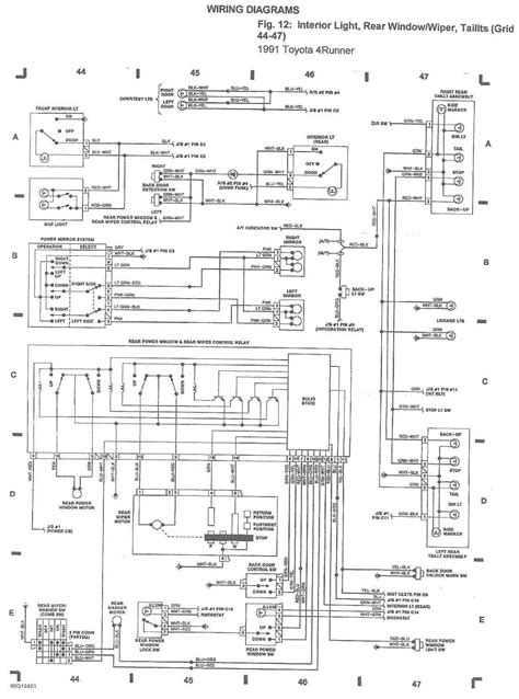 1990 toyota light wiring diagram wiring diagram