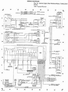 Wiring Diagram  Free Online  1995 4runner
