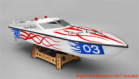 Nitrorcx Boats by Exceed Racing Fiberglass Eagle 1300 Gs260 Gas Powered