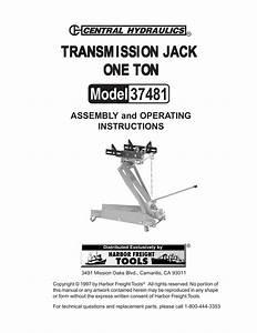 Transmission Jack Replacement Parts