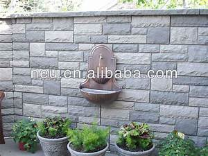 Castle stone wall panel home decorative pu