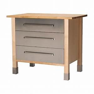 IKEA VRDE Rangement Tiroirs Meuble Indpendant