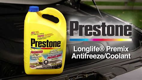 Prestone Longlife Premix Antifreeze/coolant From Canadian