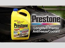 Prestone Longlife Premix AntifreezeCoolant from Canadian