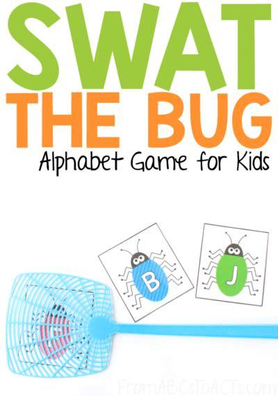 swat  bug alphabet game  abcs  acts