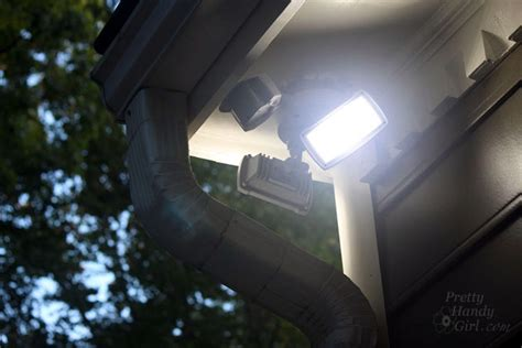 how to install an exterior motion sensor light pretty