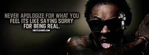 Lil Wayne Quote... Stress Rap Quotes