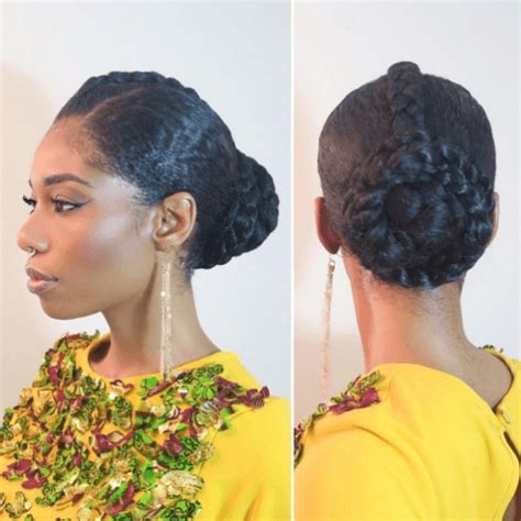 5 pretty and professional hairstyles for natural hair all things hair uk